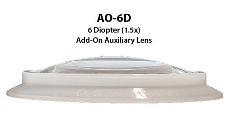 Add-On 6 Diopter Lens with Silicone Gasket