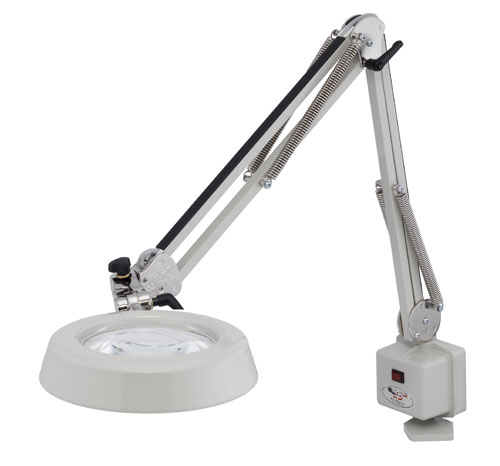 "5"" Deluxe Magnilite® Magnifier - Table Edge Clamp"
