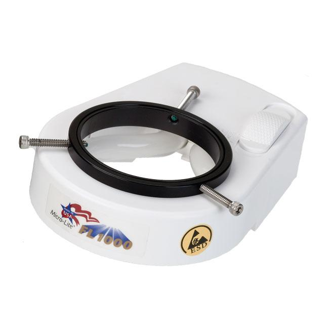 Micro-Lite® High/Low Fluorescent Electronic Ring Illuminator