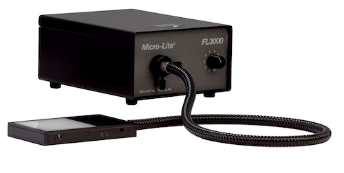 Micro-Lite® Fiberoptic 150 Watt Back Light Stage & Adapter