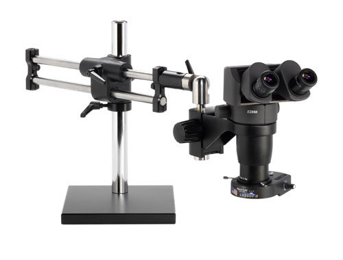 Ergo-Zoom® Stereo-Zoom Ergonomically Adjustable Microscope - 8-80x Magnification