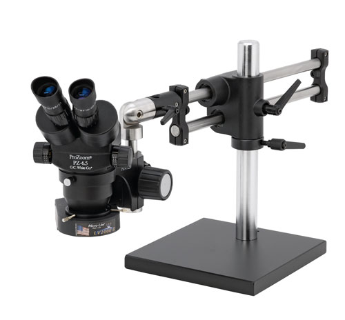 ProZoom® 6.5 Stereo-Zoom Microscope - Ultima™ EPS Articulating Arm