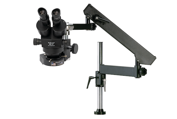 ProZoom® 4.5 Stereo-Zoom Microscope - Articulating Arm Base