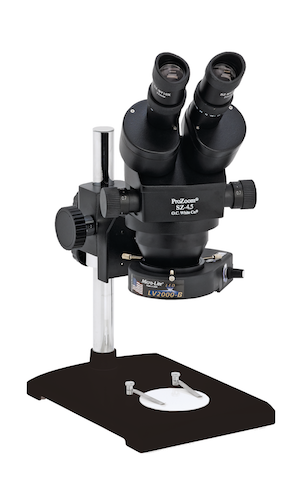 ProZoom® 4.5 Stereo-Zoom Microscope - Lab Style Base