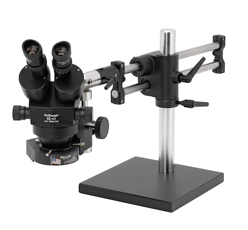 ProZoom® 4.5 Stereo-Zoom Microscope - Ball Bearing Base
