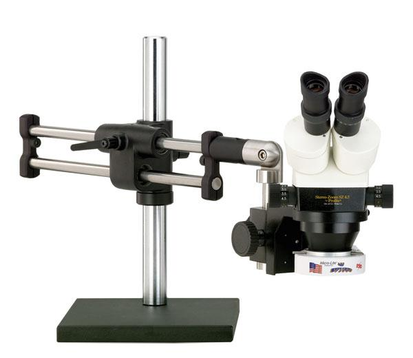 Prolite® Stereo-Zoom 4.5 Binocular Microscope - Ball Bearing Base