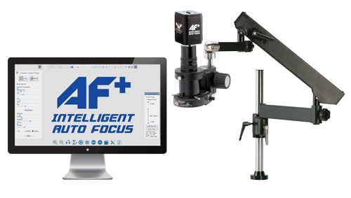 MacroZoom AF+ Intelligent Auto Focus HD Video Inspection System - Articulating Arm Base