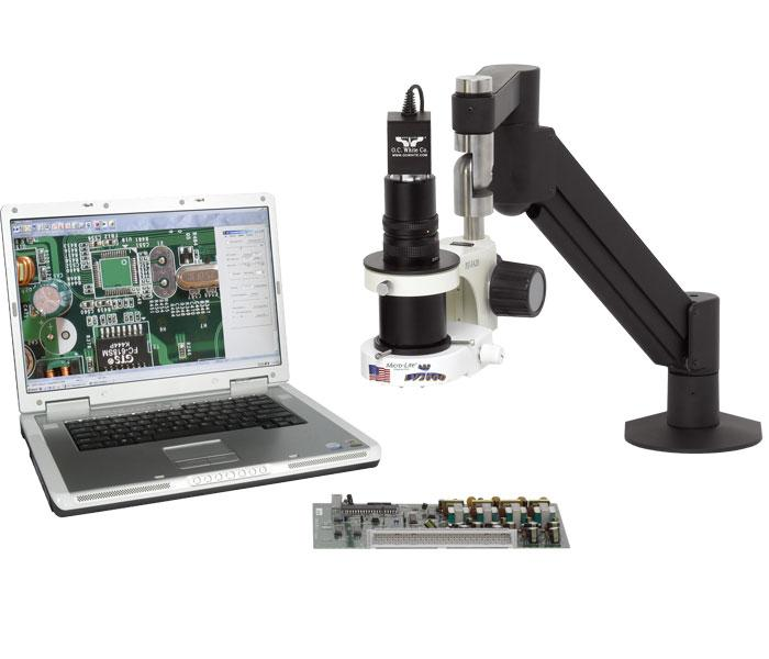 MacroZoom Digital Video Inspection System - Articulating Arm Assembly